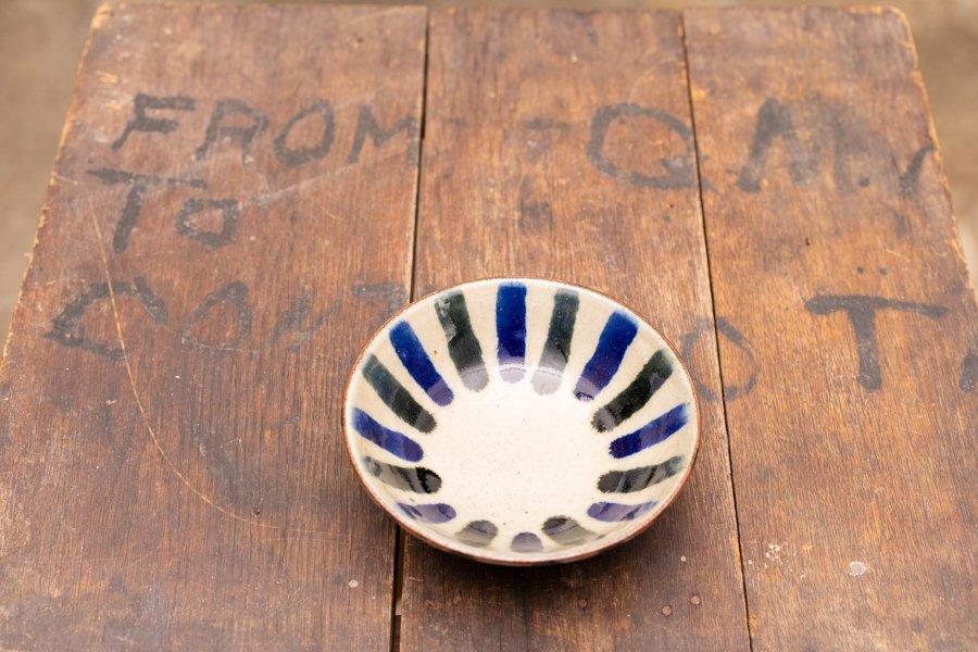 深貝工房 4寸鉢高台付き