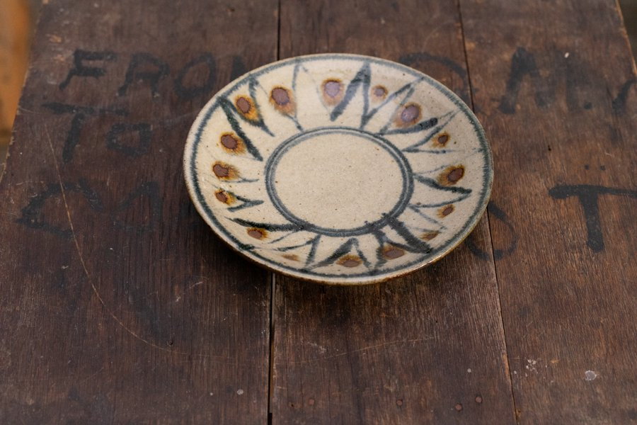 ソロソロ窯  6寸皿