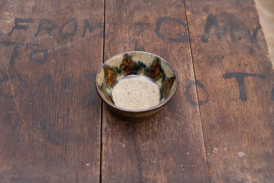 ソロソロ窯  3.5寸平鉢 B