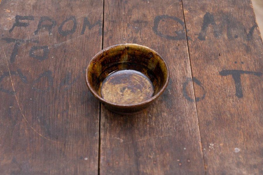 ソロソロ窯  3.5寸平鉢
