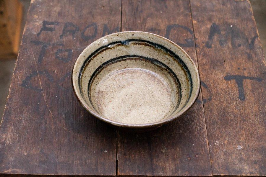 ソロソロ窯  6寸平鉢
