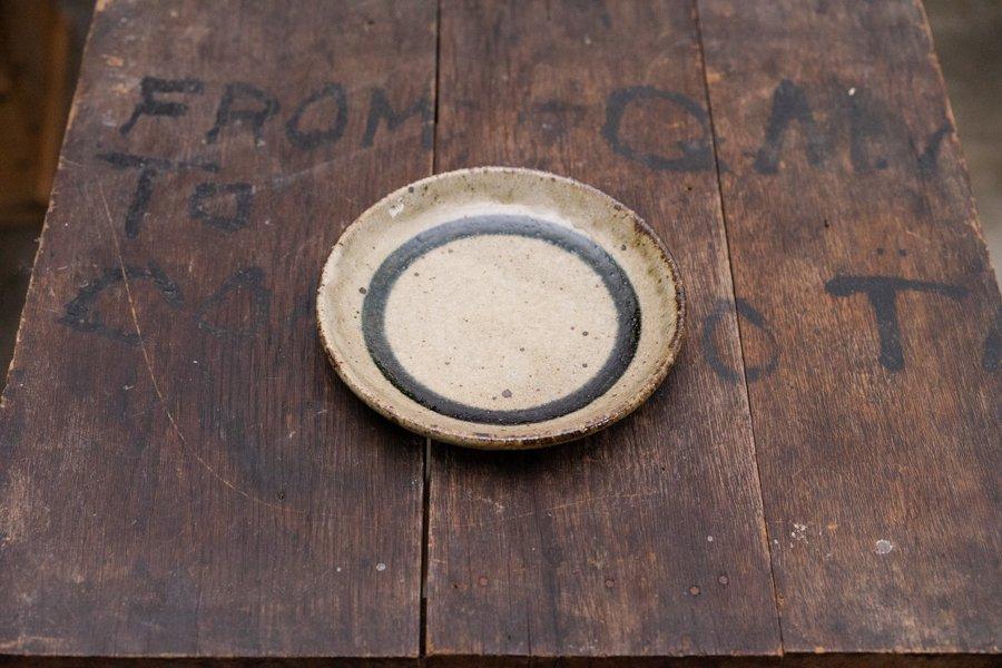 ソロソロ窯  4.5寸パン皿