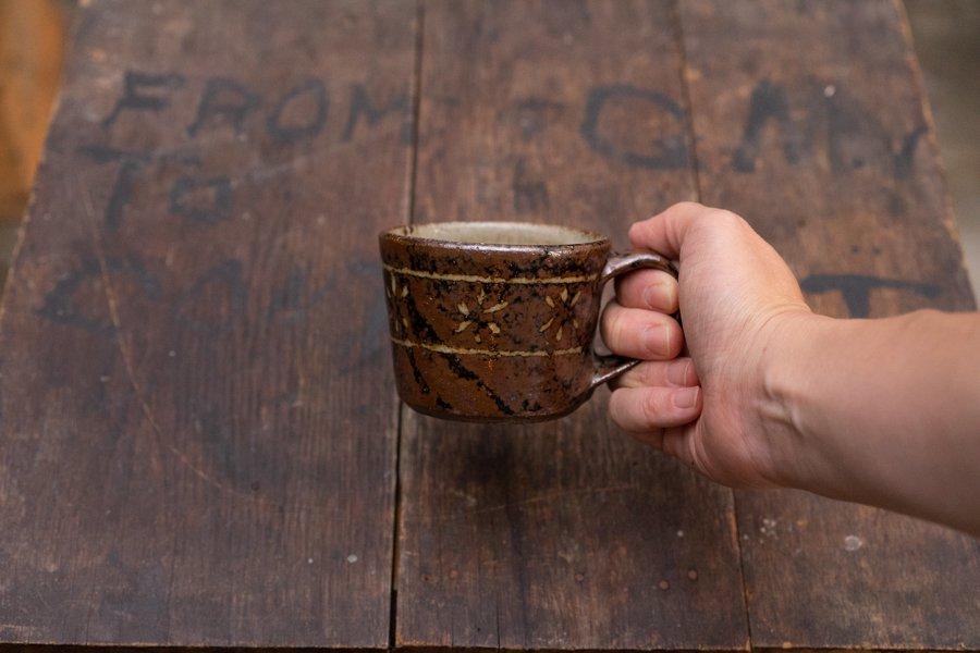 ソロソロ窯  マグカップ小