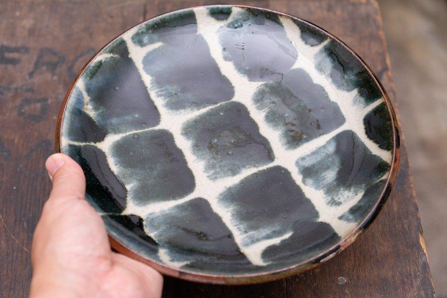 深貝工房 8寸平皿