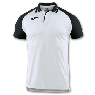 ゲームシャツ POLO 「TORNEO II」 WHITE-BLACK