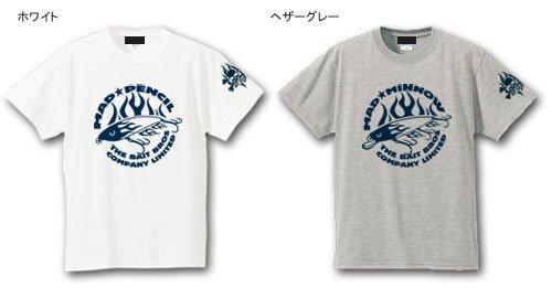BAIT BROS フィッシングTシャツ /  コミカルなストリートファッション風にルアーをデザイン、6種類から選べる!