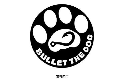 BULLET THE DOG フィッシングTシャツ / カートゥーン風のイラストで釣りをする犬をデザイン、5種類から選べる!