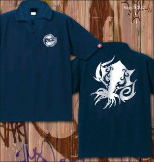 RIGZ ver.2 フィッシングポロシャツ / クールなトライバル柄で、人気の釣り魚やフィッシングギアをデザイン、12種類から選べる!