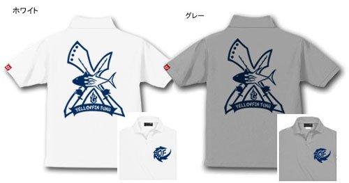 TAIL EDGE フィッシングポロシャツ / 刃(EDGE)のシャープさをイメージして、人気の釣り魚をスタイリッシュにデザイン、24種類から選べる!