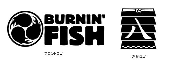 BURNIN'FISH フィッシング長袖Tシャツ / 釣り+和柄+アメリカンカジュアルを独自の世界観で表現したデザイン、25魚種から選べる!