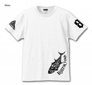 TRIBAL FINS ver.2 ダブルプリント フィッシングTシャツ / トライバルで人気の釣り魚をデザイン、前後にプリントしたシンプル&スタイリッシュ仕様。15種類から選べる!