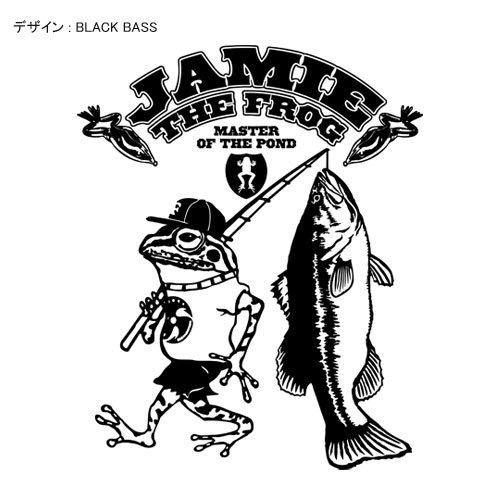 JAMIE THE FROG バスフィッシングトレーナー / カエルがバス釣りをするコミカルなデザイン、5種類から選べる!
