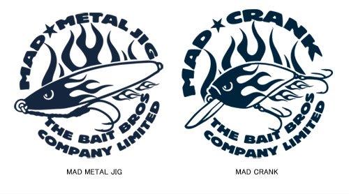 BAIT BROS フィッシング ジップジャケット /  コミカルなストリートファッション風にルアーをデザイン、6種類から選べる!