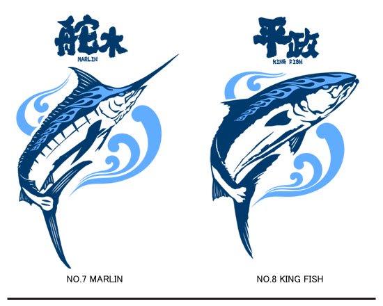 X-ANGLERS ver.3 フィッシングトレーナー / スタイリッシュなファイヤーパターンで人気魚種をデザインしたシリーズ3代目。10種類から選べる!