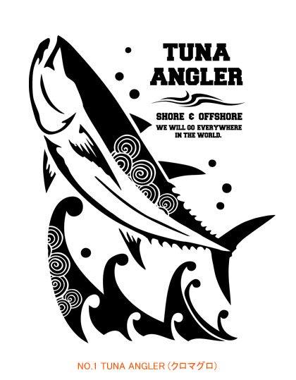 ANGLER'S SOUL J-style フィッシングポロシャツ / 和のパターン(模様)を取り入れた、ジャパン・エキゾチックな魚のデザイン。10種類から選べる!