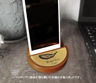 <img class='new_mark_img1' src='https://img.shop-pro.jp/img/new/icons5.gif' style='border:none;display:inline;margin:0px;padding:0px;width:auto;' />Ocean & Breaker 木製スマートフォンスタンド(オーバル) / 質感の高い木製スマホスタンド、18魚種のバリエーション、プレゼント用のメッセージ入りも選べる!!