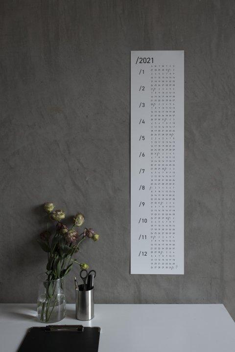2021 serial calendar(flat)