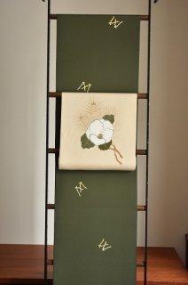工芸キモノ 野口制作小紋「琴柱」