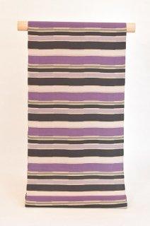 野の花工房制作ロートン織九寸名古屋帯「うつろい」