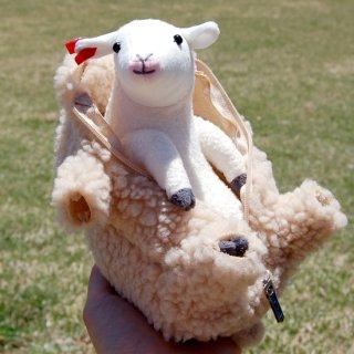 羊の毛刈りがいつでもどこでも楽しめる!! 羊の毛刈りぬいぐるみ(六甲山牧場限定ver)※商品の発送10月初旬以降予定<おひとり様につき2個までです。>