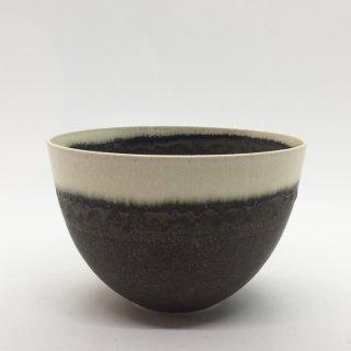 トキノハ shiro-kuroシリーズ 5寸碗 緑白