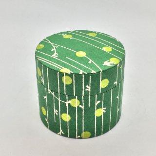 鈴木松風堂 入れ子ボックス 小サイズ「やなぎ縞 緑色」
