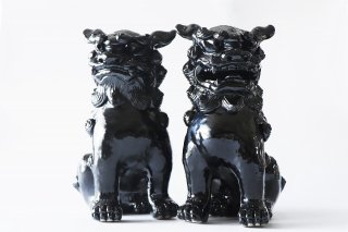 正面30�獅子黒 変形