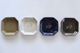 オクタ皿/唐草