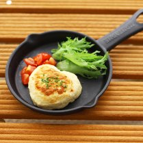【冷凍】豆腐のチキンハンバーグ(6個セット)/ひまカフェオリジナル