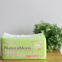 生理用ナプキン 多い日の昼用 羽つき/ナチュラムーン