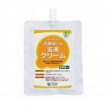 有機絹ごし玄米クリーム(チューブ容器入り)/オーサワジャパン