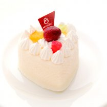【冷凍】ハートチーズケーキ(ミルク・いちご)