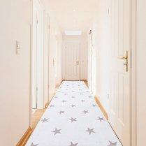ペット専用マット(折りたためる廊下敷きタイプ)スターホワイト/ディパン