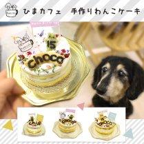 ★予約★うちの子バースデーケーキ*スタンダードタイプ【冷凍】/ひまカフェ