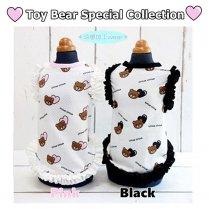 Heart Bear メッシュフリルタンク◎Toy Bear 2021SS/サーカスサーカス