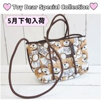 Toy Bear お散歩バッグ◎Toy Bear 2021SS/サーカスサーカス
