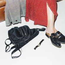 Nylon Waist Bag【ネコポス不可】