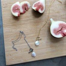 Pearl Slide Necklace