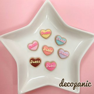【B217】デコパニでしか買えない【sweet】クッキーハーツ★オリジナルパーツ
