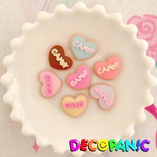 【B219】デコパニでしか買えない【CANDY】クッキーハーツ★オリジナルパーツ