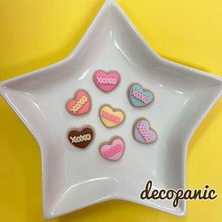 【B222】デコパニでしか買えない【XOXO】クッキーハーツ★オリジナルパーツ