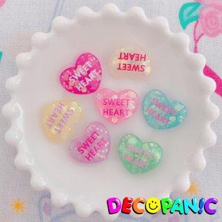 【B224】当店限定【SWEET HEART】ホログラムハーツ※土台ビビッドピンクは白文字に改良しました★