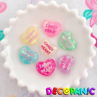 【B229】当店限定【CANDY HEART】ホログラムハーツ※土台ビビッドピンクは白文字に改良しました★