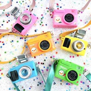【B933】立体カメラ デコパーツ ミニチュア