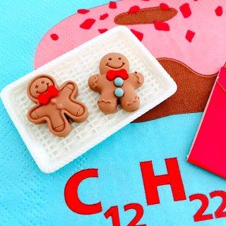 【A205】人形クッキー カボション デコパーツ