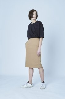 BACK LACE UP TIGHT SKIRT