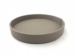 ROUND TRAY GEA SMALL FIRENZE / TAUPE