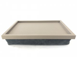 BED TRAY TESEO FIRENZE / TAUPE