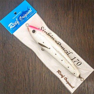 Sinking Pencil 170 ホワイトピンクヘッド