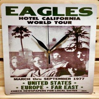 ロックバンド、イーグルスの【ホテル カリフォルニア】ツアープレート型時計